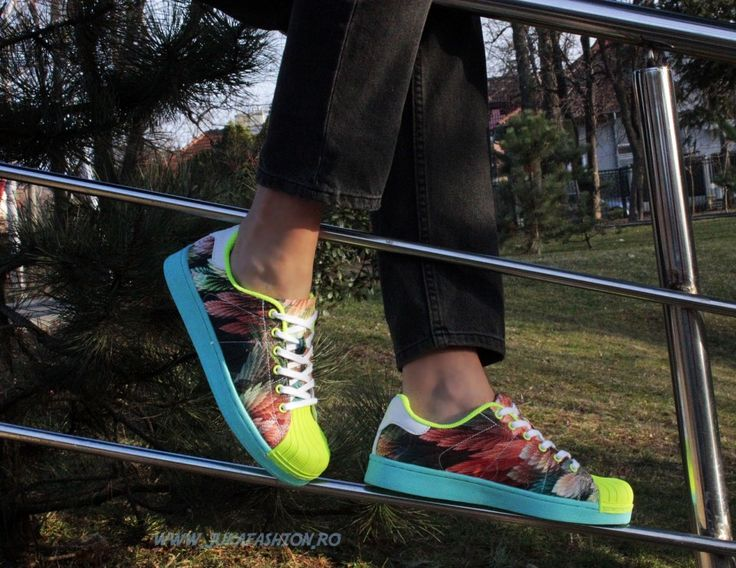 "Poze Adidas Casual Dama ""Superstar"" Raynbow by JukaFashion.ro cod B5469-1"