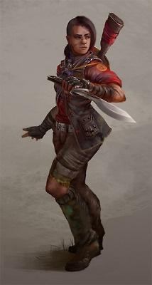 Female version of the TF2 Sniper. >:]