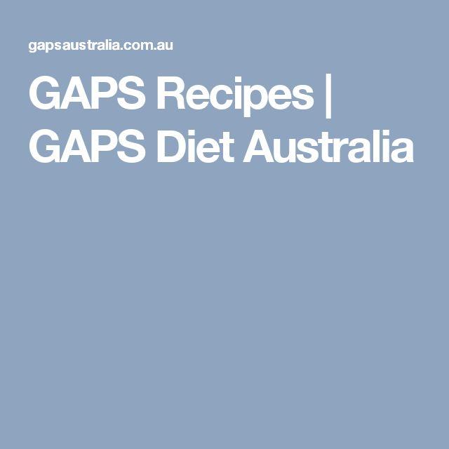 GAPS Recipes | GAPS Diet Australia