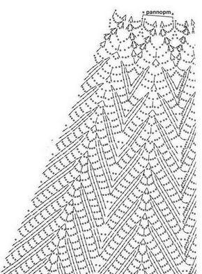 Robe blanche et ses grilles gratuites !