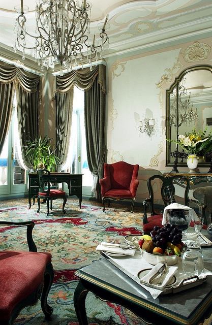 hotel gritti palace venice suite del doge grand canal suite sitting room venice italy. Black Bedroom Furniture Sets. Home Design Ideas