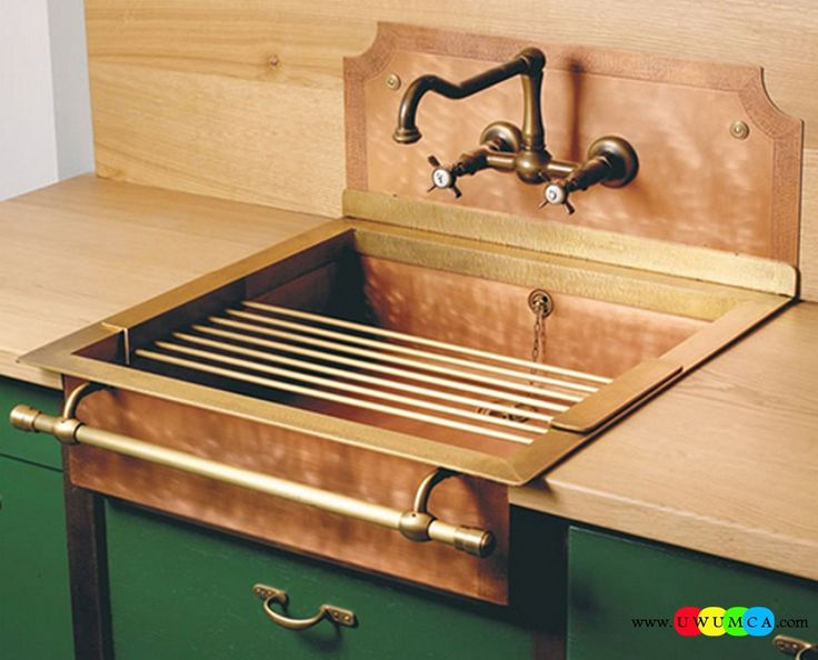 Bathroom:Old Styled Brass Sinks Contemporary Modern Artisan Crafted Sinks Handcrafted Vessel Metal Sink Bathroom Interior Furniture Decor Design Ideas (4) Eco-Conscious, Artisan Crafted Sinks Sparkle With Contemporary Class