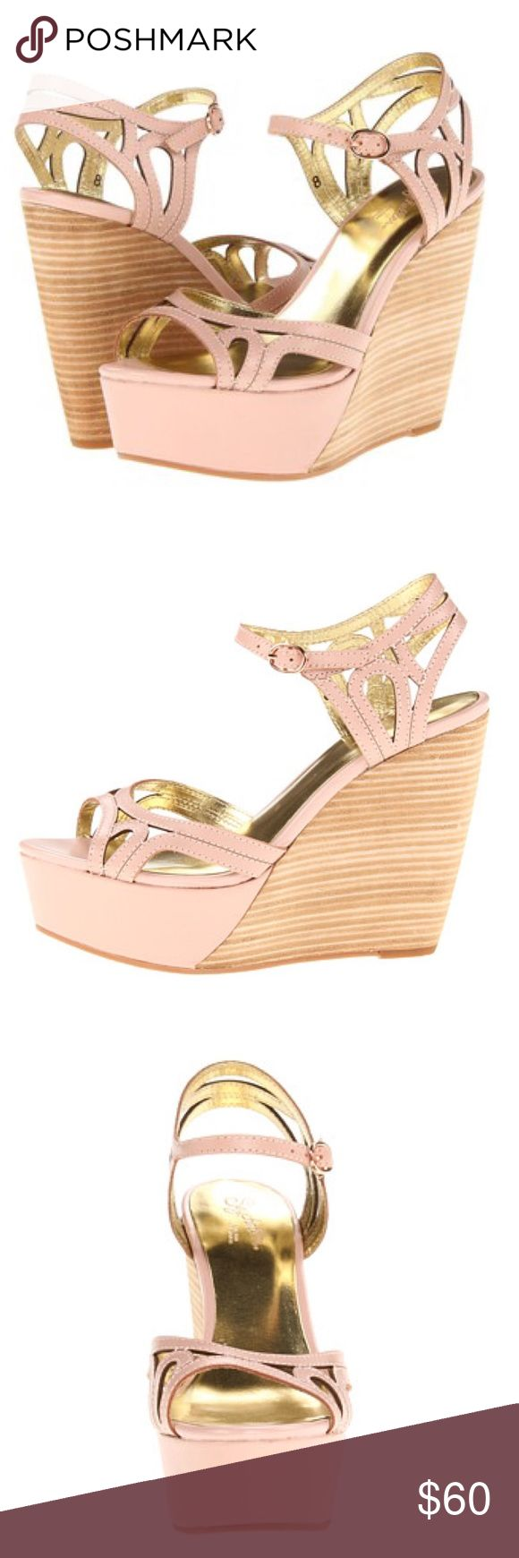 BEAUTIFUL WEDGES FROM SEYCHELLES SHOES. Size 8. EXCELLENT CONDITION! Worn only one time. AS NEW. 5 inches. Seychelles Shoes Wedges