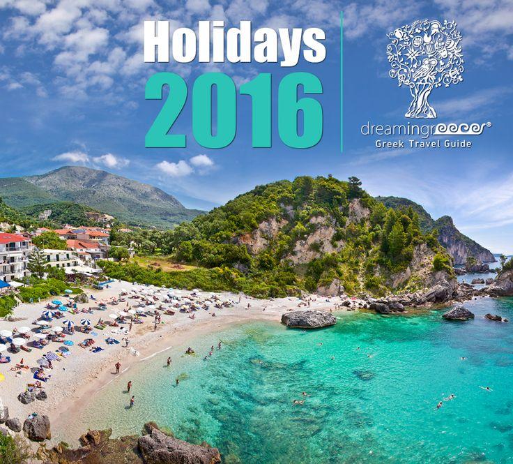 Summer Holidays 2016 - Travel Guide of Greece #dreamingreece #travelguide #vacations #travel #greece #holidays #greekislands