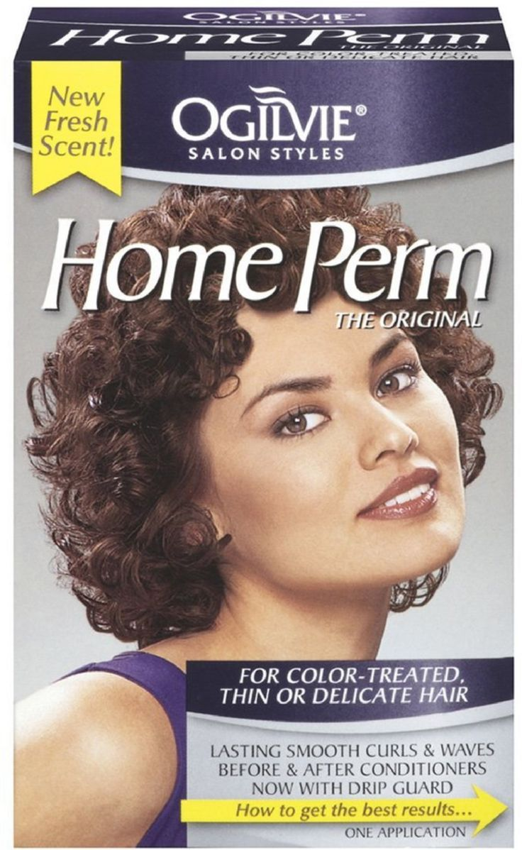 Ogilvie Home Perm for ColorTreated, Thin or Delicate Hair