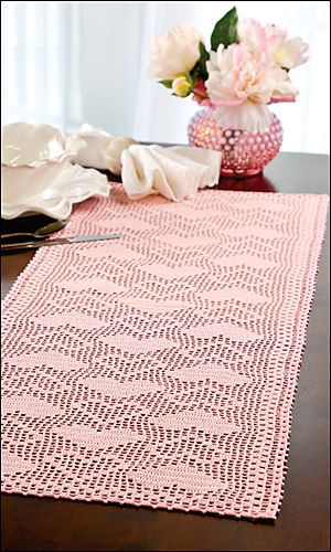 109 Best Images About Crochet Table Runner On Pinterest