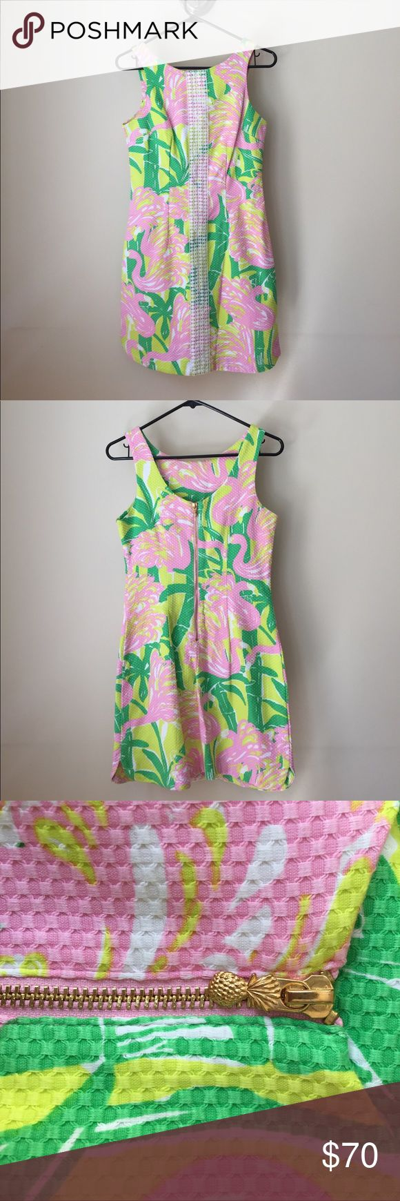 NWOT Lilly Pulitzer for Target Flamingo Dress NWOT dress from the limited Lilly for Target line! Size 2. All offers considered! Lilly Pulitzer for Target Dresses