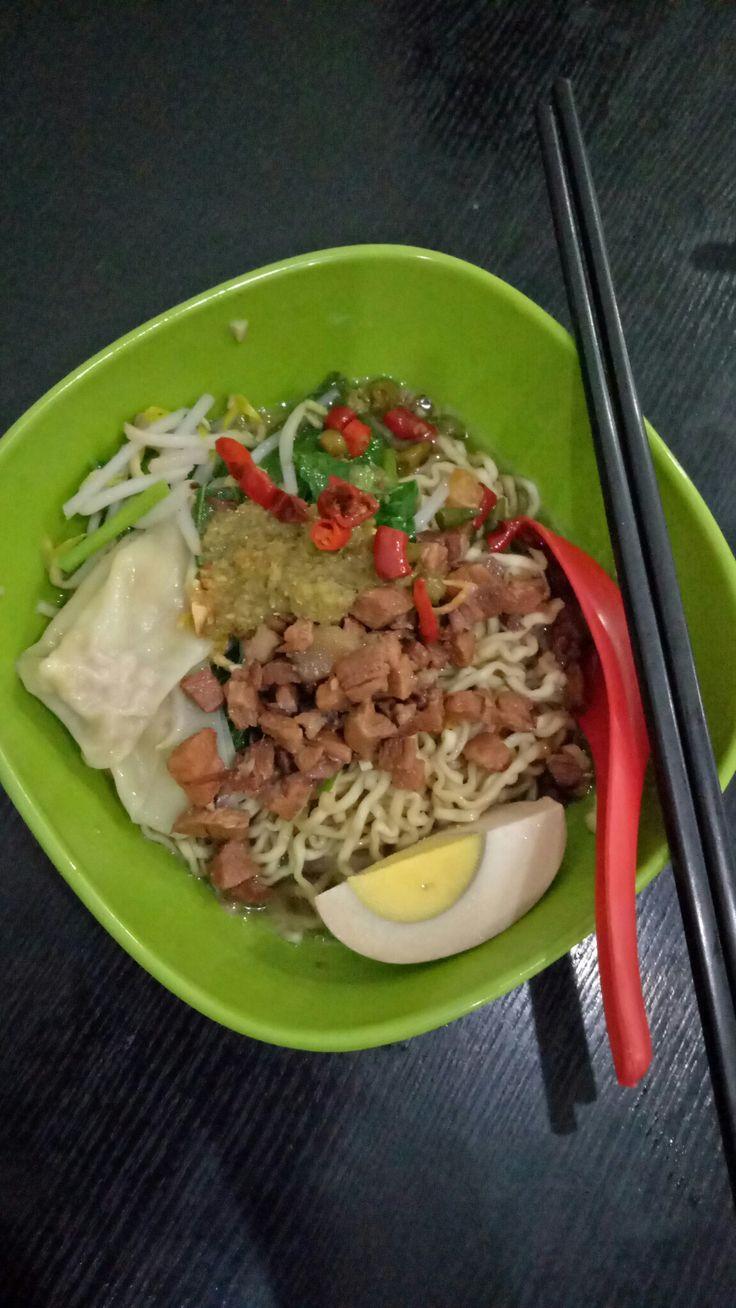 Wonton noodle #food