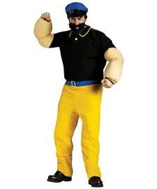 Popeye and his Spinach can costumes #halloween | Halloween ...  |Popeye Zombie Costumes