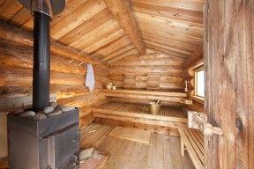 Log sauna