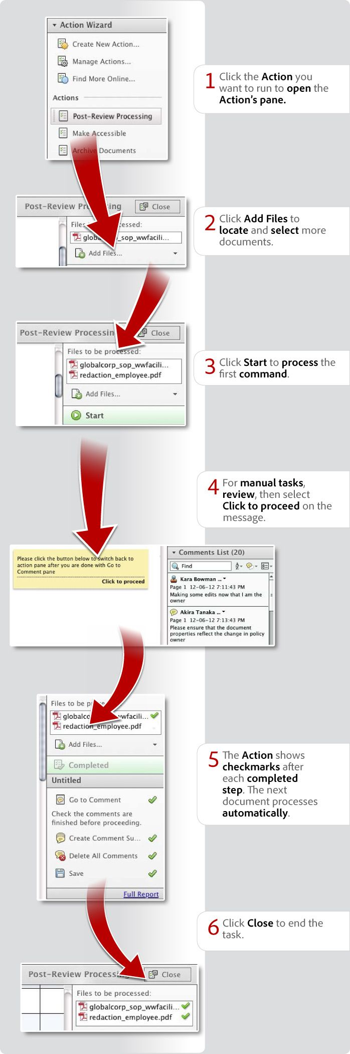 In Thisgraphic, Learn How To Create Pdf Actions Or How To Automate Pdf Using