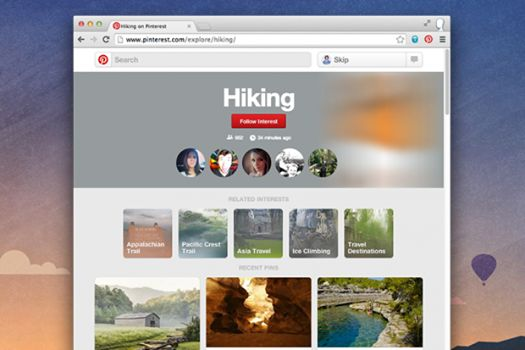 Το Pinterest επιτρέπει πλέον το follow ενδιαφερόντων (interests)  http://www.mediasystems.gr/to-pinterest-epitrepei-pleon-to-follow-endiaferonton-interests/