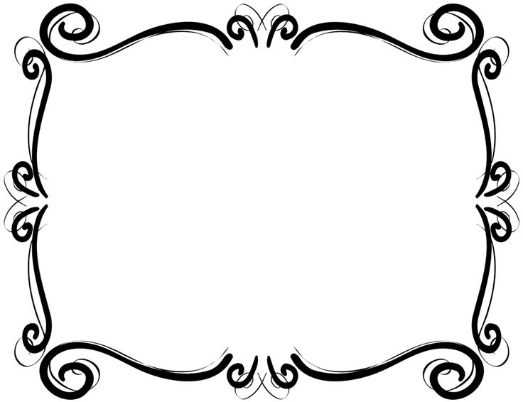 Free Clip Art Borders Scroll - Cliparts and Others Art Inspiration