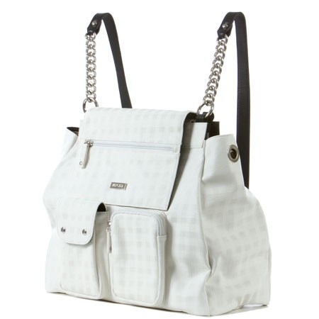i so want this!  it turns it a backpack.  The new Miche bags are awesome!