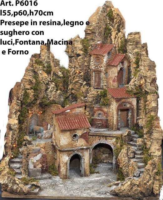 Presepe artigianale napoletano famosa Via San Gregorio Armeno. 3