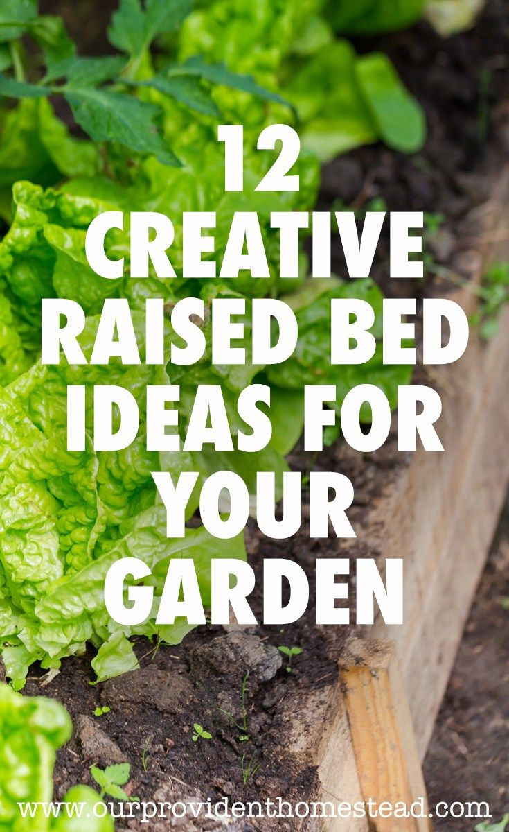 12 Creative Raised Bed Ideas For Your Garden Raised Beds Garden