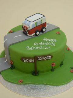 #VW #Campervan #Cake