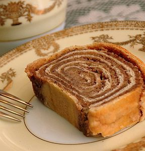 Nut rolls exist in every Eastern European culture and they are usually made with walnuts, although other nuts can be used.