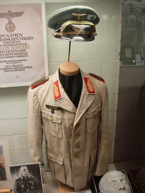 General Rommel's uniform