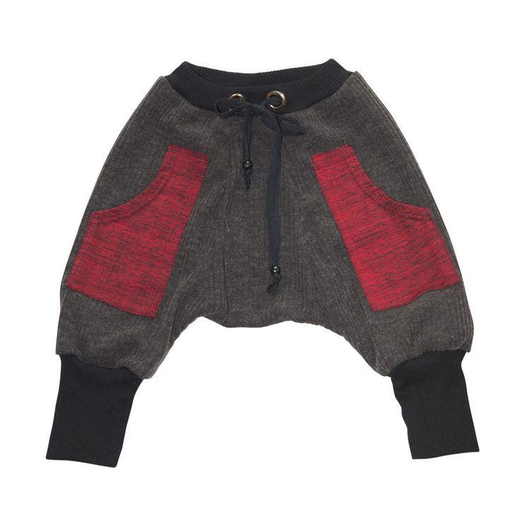 Pantalon MC Hammer /red Pocket/ Pants MC Hammer