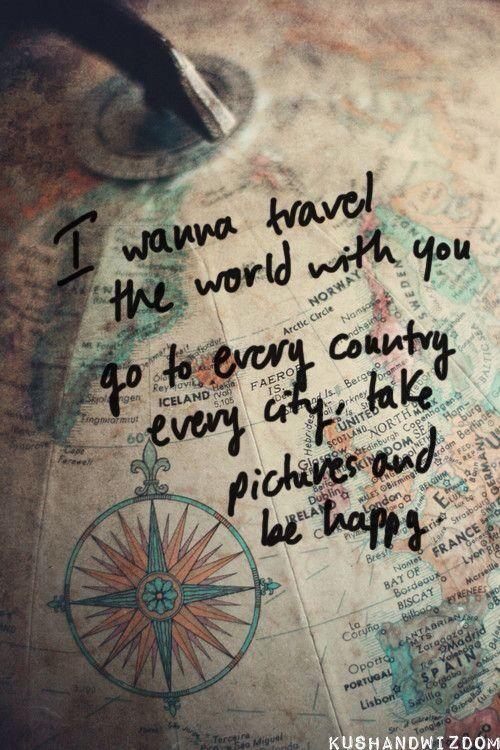 Je veut refaire le tour du monde !! Mais avec mon amoureux