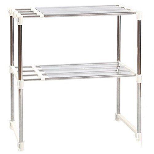 M s de 25 ideas incre bles sobre estantes del armario solo - Estante para microondas ...