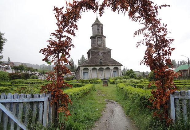 Nuestra Señora de Gracias de Nercón Church, Castro.