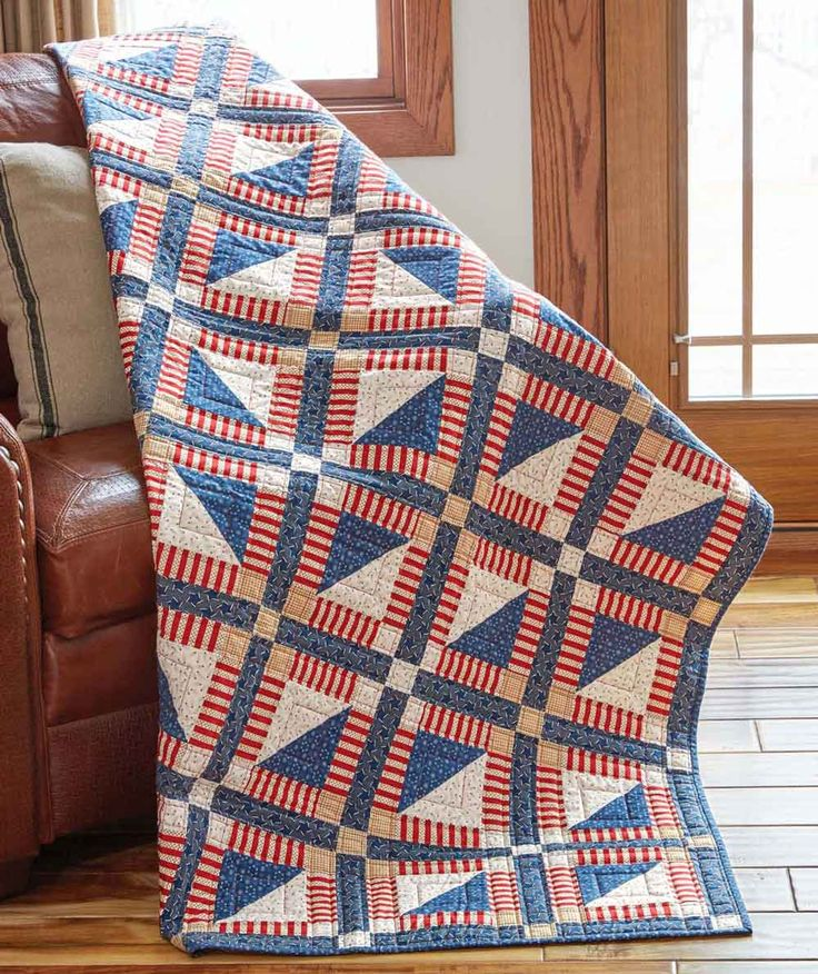 Mary Fons and Marianne Fons will take you through the construction of a special patriotic quilt made to honor our American veterans.