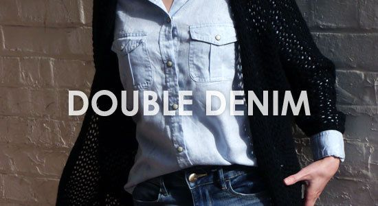 Classic Double Denim Outfit – Inspiration Idea with American Eagle Outfitters