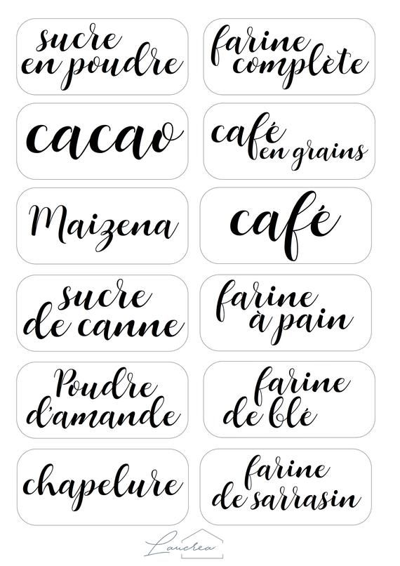 Café Thé Sucre Personnalisé bocal de conservation Étiquettes Autocollants Vinyle Autocollants Adhésif