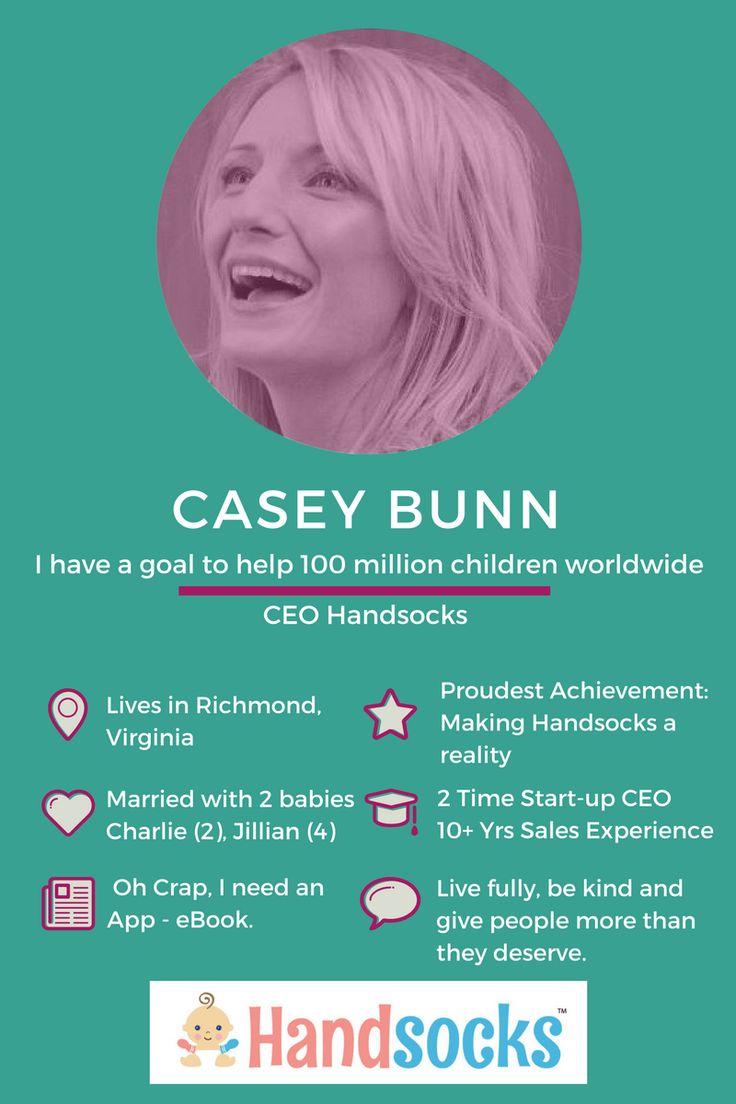 Meet the lively Casey Bunn, CEO Handsocks