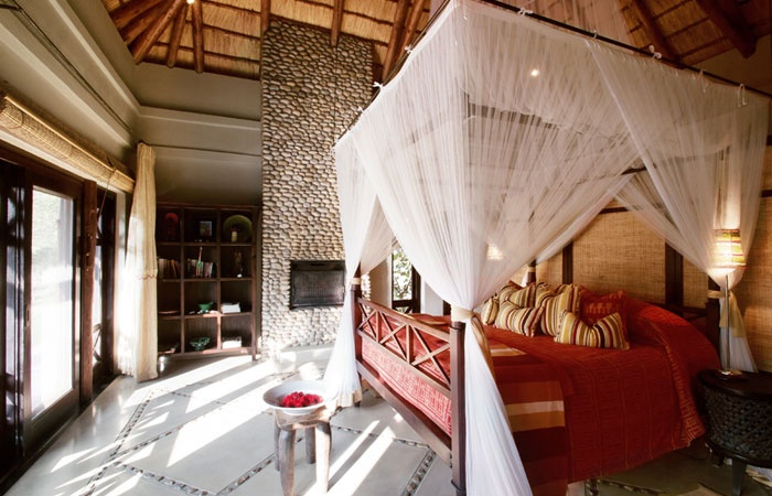 Thanda private game reserve bedroom