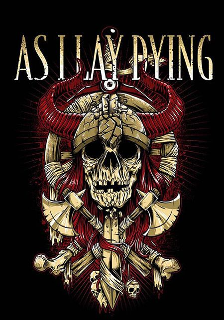 AS I LAY DYING by bazzier studio, via Behance