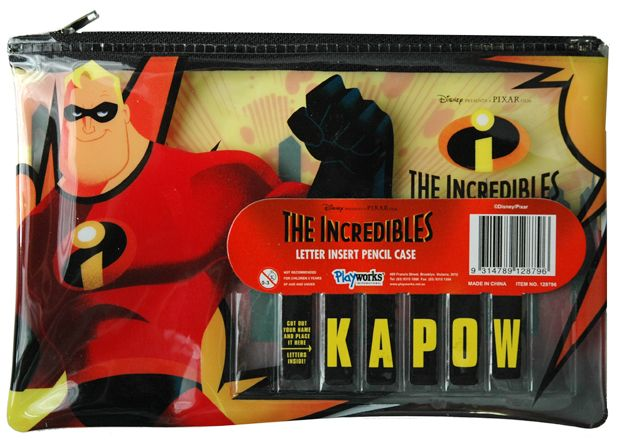 The Incredibles Pencil Case and more of The Incredibles toys at Funstra