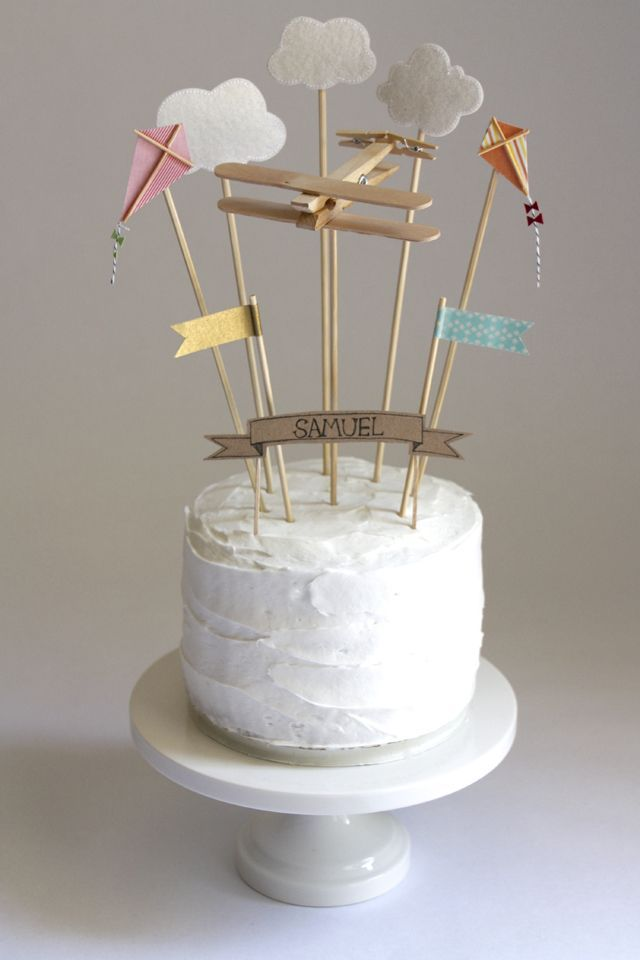 A sweet little sky themed birthday party