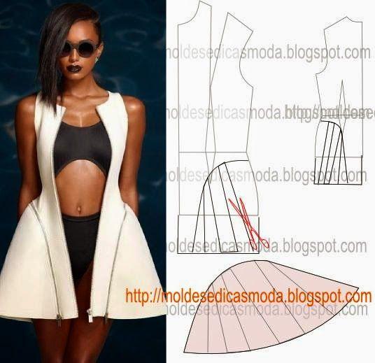 Moldes Moda por Medida: DETALHES DE MODELAÇÃO-33