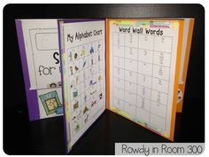 Love these Writing Workshop folders -- everything in one place!