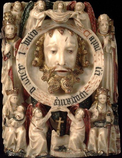 Chef de saint Jean-Baptiste, Angleterre, vers 1470, ©Victoria and Albert Museum