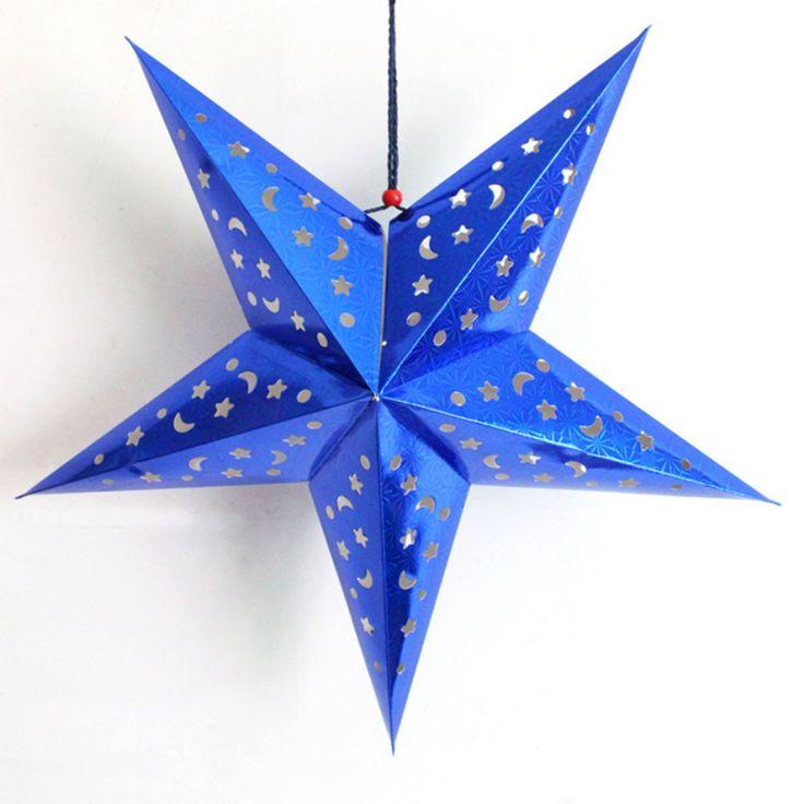 Купить товарЧетыре Цвета Рождественская Звезда Строка Висит Рождественский…
