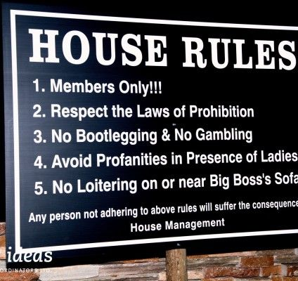 Casino house rules