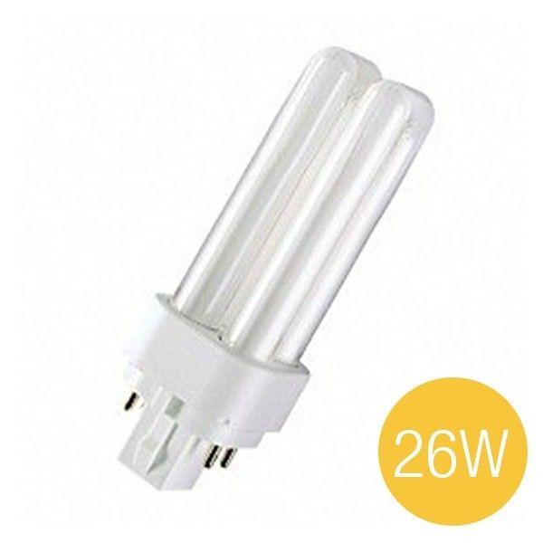 Lampu Hemat Energi Dulux D/E 26 Watt Base G24D Osram - Lampu u/ Rumah Hemat Daya Listrik Bergaransi.  - Extremely Economical - Good Quality of Light - Excellent FLUX - Long Service Life Time - Environmetal friendly.  http://lampu.com/dulux-de/478-lampu-hemat-energi-dulux-d-e-26-watt-base-g24d-osram-lampu-u-rumah-hemat-daya-listrik-bergaransi-di-jual-harga-lebih-murah.html  #lampuhematenergi #dulux #osram