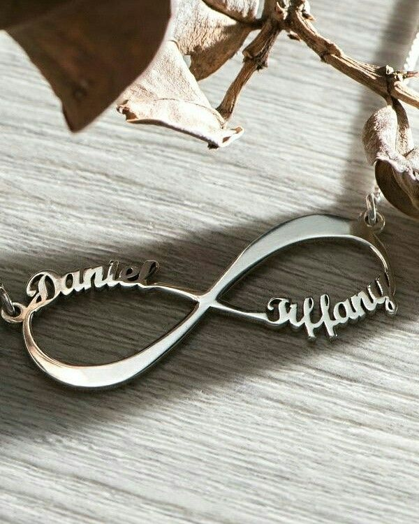 Personalised infinity Pendants available for ₹399.  Available colours - Gold/ Rosegold/ Silver.  To shop DM or WhatsApp us at 9930291267.