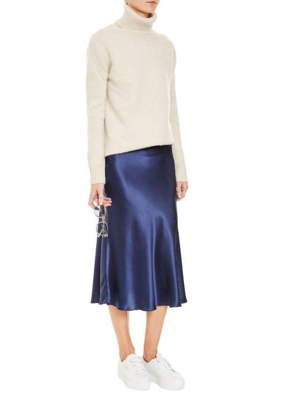 6f58c8afef7d Ellie Silk Midi Skirt | Надо попробовать | Pinterest | Skirts, Midi ...