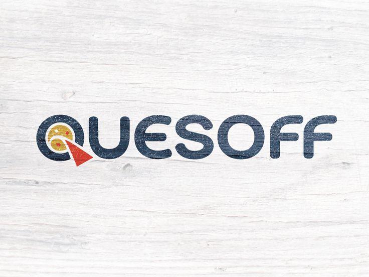 Quesoff #queso #logo