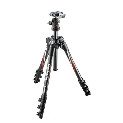 New Gear: Manfrotto BeFree Carbon Fiber Tripod | Popular Photography