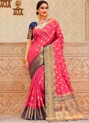 c432babae0490b Divine Border Festival Classic Saree #silk #silksaree #saree #usa #uk  #malaysia #worldwideshipping #germany