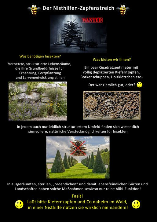 63 besten unsinnige insektennisthilfen insektenhotel. Black Bedroom Furniture Sets. Home Design Ideas