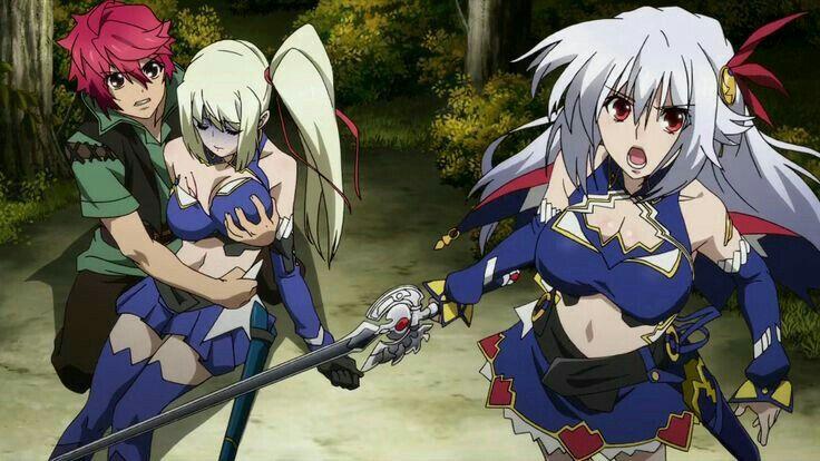 Madan No Ou To Vanadis Tigrevurmud Vorn Eleonora Vitaria Limlisha Anime Anime Vines Lord Marksman And Vanadis