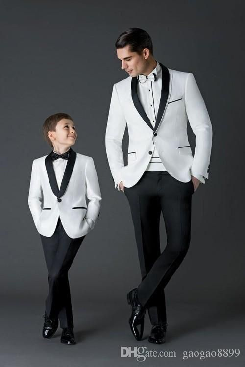 2016 New Arrival Groom Tuxedos Men'S Wedding Dress Prom Suits Father And Boy Tuxedos Men'S Suits Bridegroom Custom Make Cheap Mens Clothing Tux From Gaogao8899, $66.34| Dhgate.Com