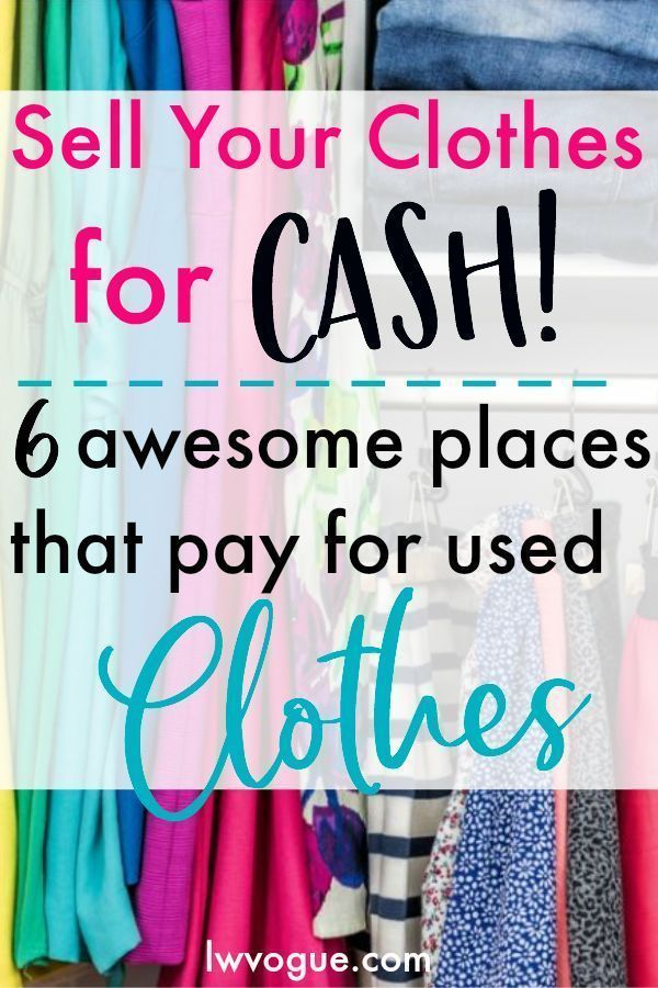03e3521f026 Clean out your closet and get paid for your used clothes. This is a  perfectly legit way to make money fast from home. Check out the top 6  places to sell ...